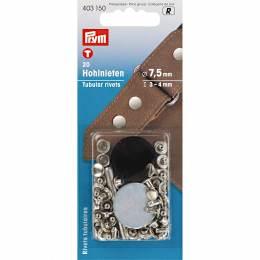 Rivet tubulaire pour épaisseur 3-4mm argent 20p - 17