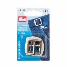 Boucle de ceinture 20mm acier argenté carte 2 - 17