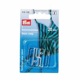 Attache de maillot de bain 20mm transparent - 17