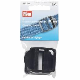 Boucle de réglage plastique 30mm noir - 17