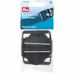 Boucle de réglage plastique 50mm noir - 17