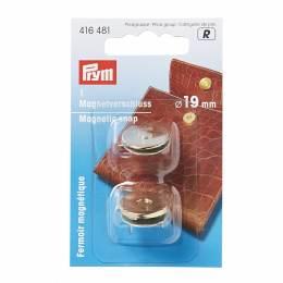 Fermoir magnétique dore 19mm - 17