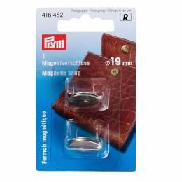Fermoir magnétique laiton antique 19mm - 17