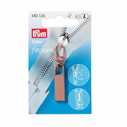 Tirette fashion-zipper classic or rose - 17