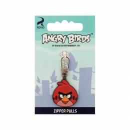 Tirette fashion - zipper angry bird assortis - 17
