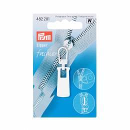 Tirette fashion zipper metal blanc - 17