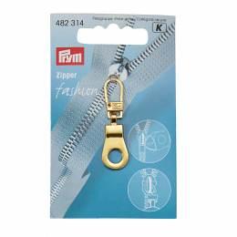 Tirette fashion zipper oeillet doré - 17