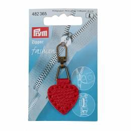Tirette fashion-zipper imitation cuir ovale form.  - 17