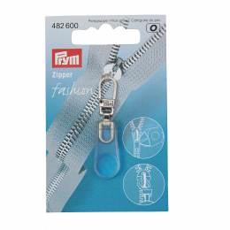 Tirette fashion - zip caoutch transparent - 17