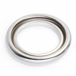 Rondelles 4b laiton 11,5 mm argenté mat - 17