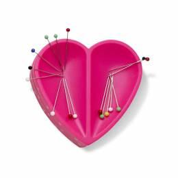 Plaque aimantée pour épingles cœur - 17