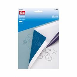 Papier carbone blanc/bleu - 17