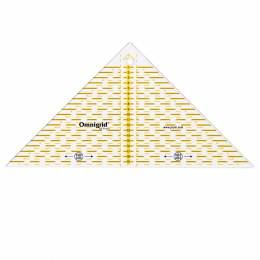 Règle triangle rectangle 1/4 carre en cm - 17