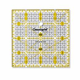 Règle universelle en inch 4x4 inch quadrillage - 17