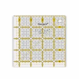 Règle universelle en inch 4,5x4,5 inch quadrillage - 17