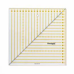 Règle patchwork carrée 20 x 20 cm omnigrid - 17