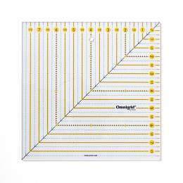 Règle patchwork carrée 8 x 8 inch omnigrid - 17