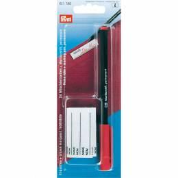 Crayon marqueur rouge + 24 etiquettes - 17