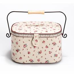 Coffret à couture country rose - 17