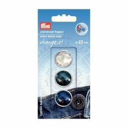 Change it calottes bouton jeans glamour - 17