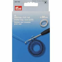 Anneau pour crocheter en 30mm - 17
