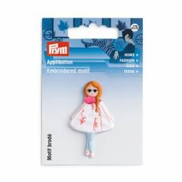 Motif déc. poupée cheveux roux - 17