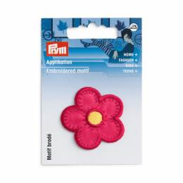 Motif déc. fleur fuchsia - 17