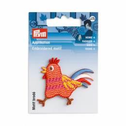 Motif déc. poule terracotta - 17