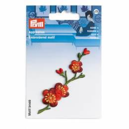 Motif déc. vrille de fleurs de cerisier - 17
