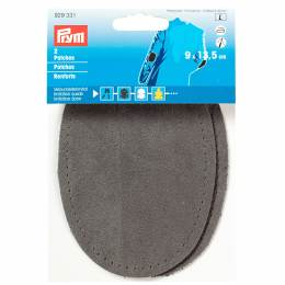 Coude imi. daim thermo gris 9/13,5cm - 17