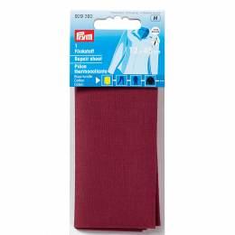 Pièce thermocollante coton rouge foncé 12/45cm - 17