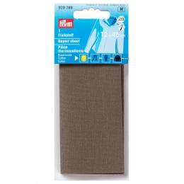 Pièce thermocollante coton 12x45 cm kaki - 17