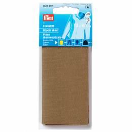 Pièce thermocollante coton 12x45 cm brun - 17