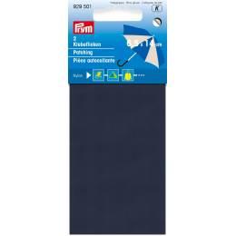 Pièce autocollante nylon 18 x 10cm bleu marine - 17