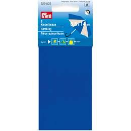 Pièce autocollante nylon 18 x 10cm bleu - 17
