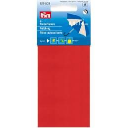 Pièce autocollante nylon 18 x 10cm rouge - 17