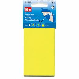 Pièce autocollante nylon 18 x 10cm jaune - 17