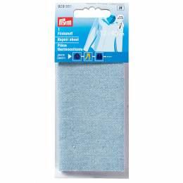Pièce thermocollante jeans 12x45 cm bleu clair - 17