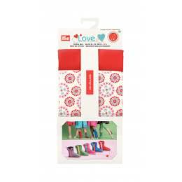 Prym love assortiment tissus chaussures rouge - 17