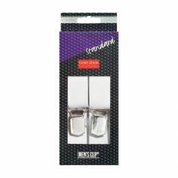 Bretelle homme standard 125cm 30mm blanc - 17