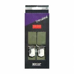 Bretelle homme standard 125cm 30mm vert - 17
