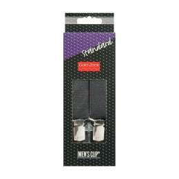 Bretelle homme standard 110cm 25mm noir - 17