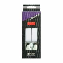 Bretelle homme standard 110cm 25mm blanc - 17