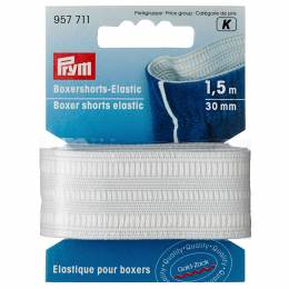 Élastique pour boxers 30mm blanc casse 1 m - 17