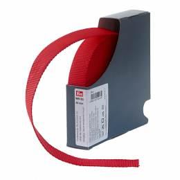 Sangle/sac randonnée 25mm 10m rouge - 17
