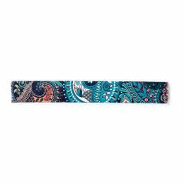 Sangle pour sac 40 mm turquoise paisley - 17