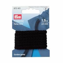 Cordon parka en polyacrylique 4mm noir 1,5 m - 17