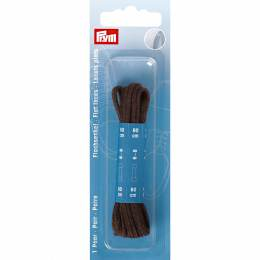 Lacets chaussure plats 4mm x 60cm brun 1 paire - 17