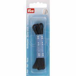 Lacets chaussure ronds 3mm x 60cm noir 1 paire - 17