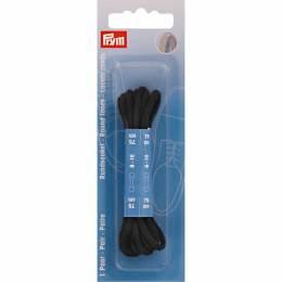 Lacets chaussure ronds 3mm x 75cm noir 1 paire - 17